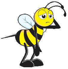 Smutna Pszczoła